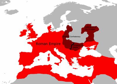 Rome circa 618