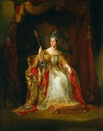 Coronation portrait of Queen Victoria - Hayter 1838
