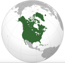 Map of the United States of Canada