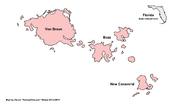 Map of New Florida (Venusian Haven)