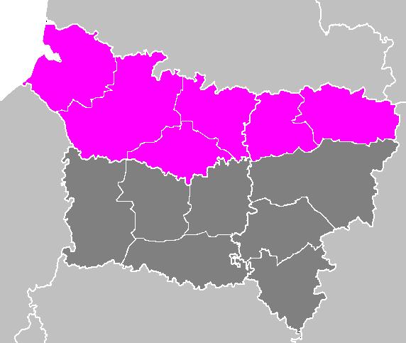 Picardie territory lost