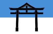Flag of Shintō Estonia