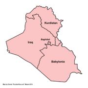 Map of Mesopotamia (New Union)