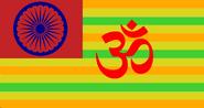 Flag of Hindustan (Saint Muhammed)