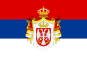 Flag of Serbia (1882-1918)