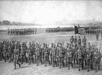 American Soldiers WWI (No Napoleon)