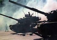 Warsaw pact's tanks