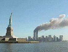 File:220px-National Park Service 9-11 Statue of Liberty and WTC fire (1).jpg
