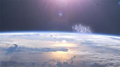 Mir space station photo Y2K
