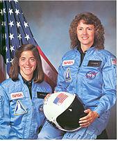 Christa McAuliffe and Barbara Morgan - GPN-2002-000004-1-