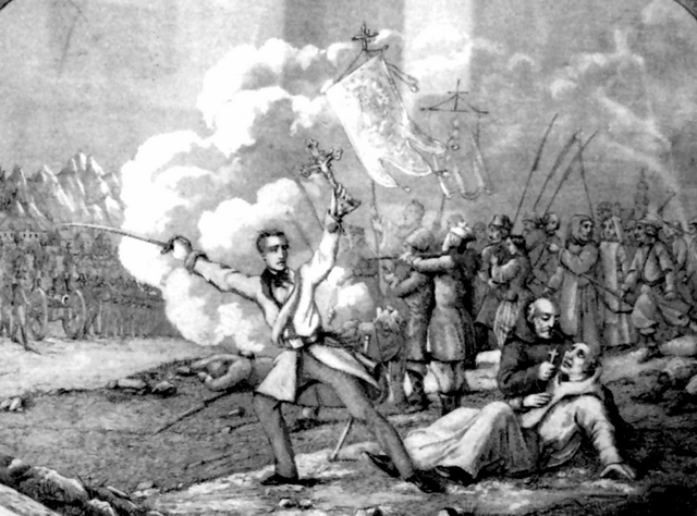 File:Edward Dembowski during Kraków Uprising 1846.png