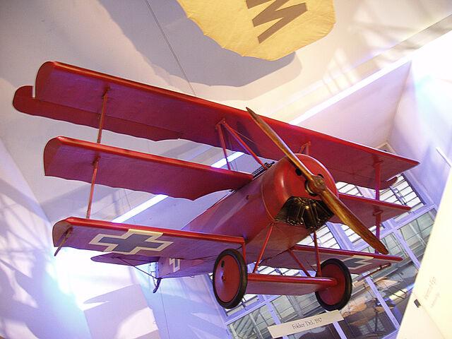 File:Fokker Dr. I (117710246).jpg