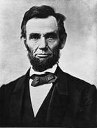 153px-Abraham Lincoln head on shoulders photo portrait
