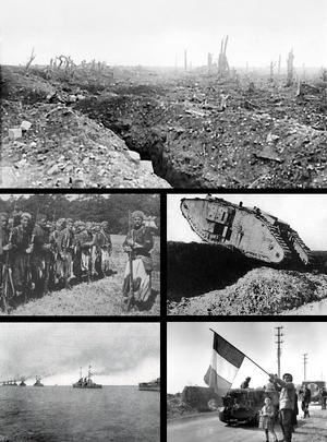 World War I Montage (No Napoleon)