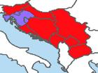 Croatian War of Independence Map