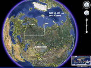 EMP area Russia