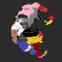 Pangea 1,000 AD