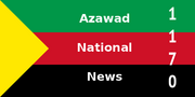 Azawad National News Logo