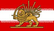 Polish Iran Flag