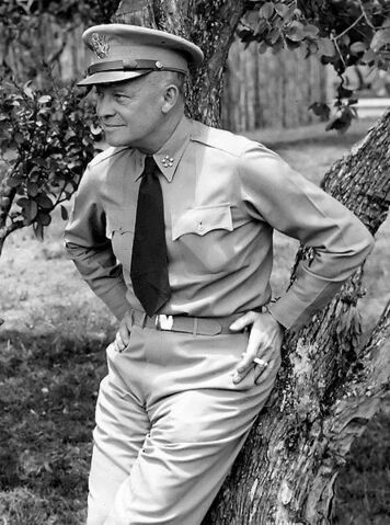 File:445px-Dwight D Eisenhower as General of the Army crop.jpg