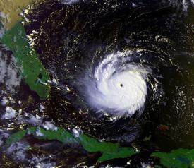 Hurricane Danielle, 1992