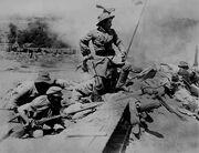 The Birth of a Nation war scene