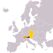 Location of Austria (Yellowstone)