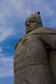 Zheng he statue