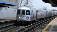 An A train in Broad Channel