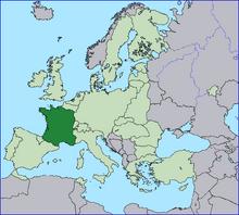 Location France EU Europe