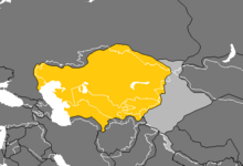 Location of Kazakhstan (Nuclear Apocalypse)