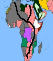 African railroad