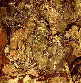 Indischer Maler des 6. Jahrhunderts 001