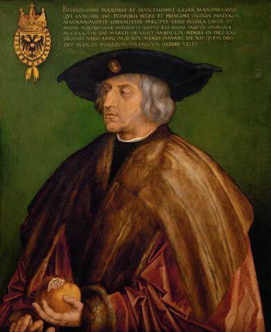 File:Albrecht Dürer - Portrait of Maximilian I - Google Art Project.jpg
