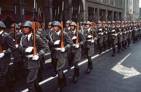 German troops in Paris
