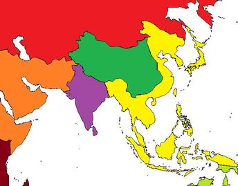 Post WWII Asia