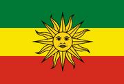 Flag of Bolivia (SM 3rd Power)