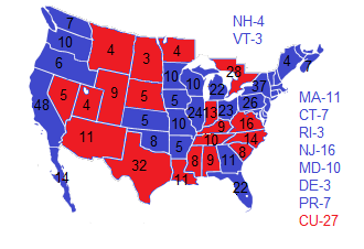 1992 Election NW