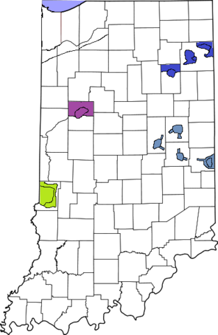 File:391px-Map of Indiana2 highlighting Lake County.png