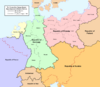 Map of the Former Holy Roman Empire (No Napoleon)