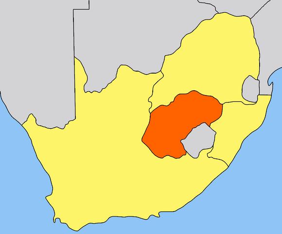 File:Orange Free State map.png
