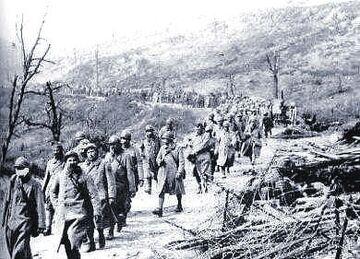 Caporetto prisoners