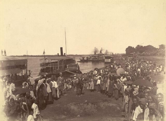 File:British forces arrival mandalay1885.jpg