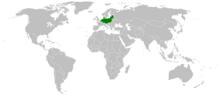 Map of Nazi Germany