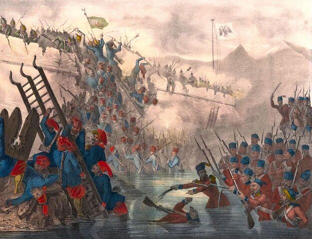 File:Turkish troops storming Fort Shefketil (cropped).jpg