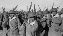 Alaskan Native Soliders WWII