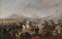 800px-Jean-Simon Berthelemy (circle) Napoleon in the Battle of Maringo