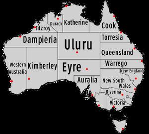 States of Australia (1861 HF)