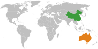 Sino-Australian Conflict
