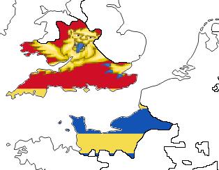 File:Wessex w. Flag (the Kalmar Union).png